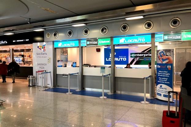 Enterprise Car Rental At Catania Airport Cta